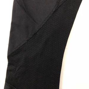 lululemon athletica Pants - Lululemon Black Crop Mesh Leggings